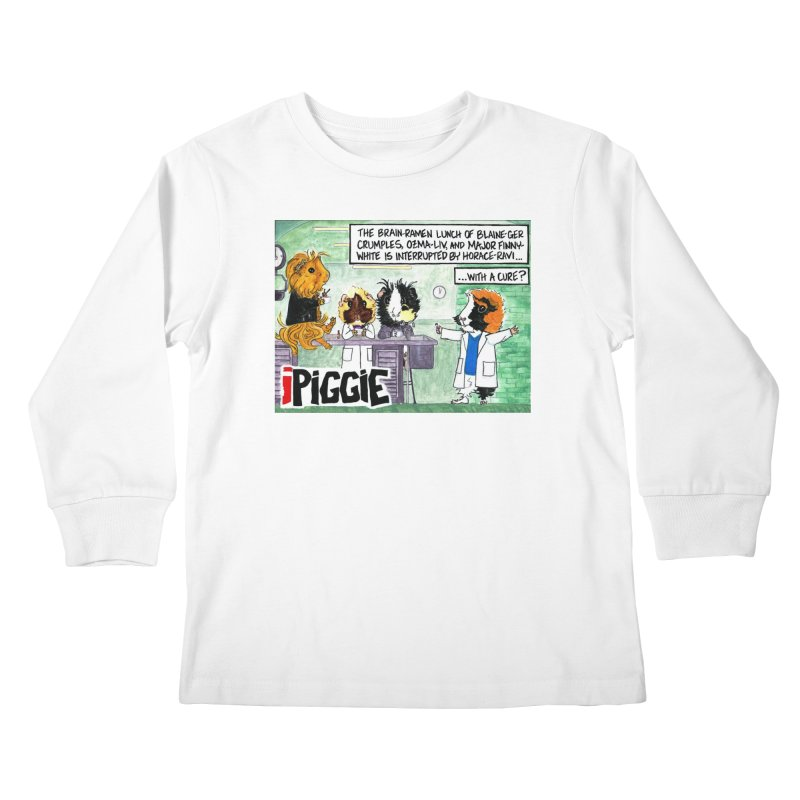 iPiggie Kids Longsleeve T-Shirt by Guinea Pigs and Books