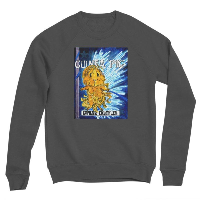 Danger Crumples Nouveau Men's Sponge Fleece Sweatshirt by Guinea Pigs and Books