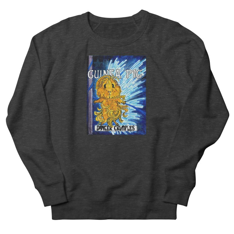 Danger Crumples Nouveau Women's French Terry Sweatshirt by Guinea Pigs and Books