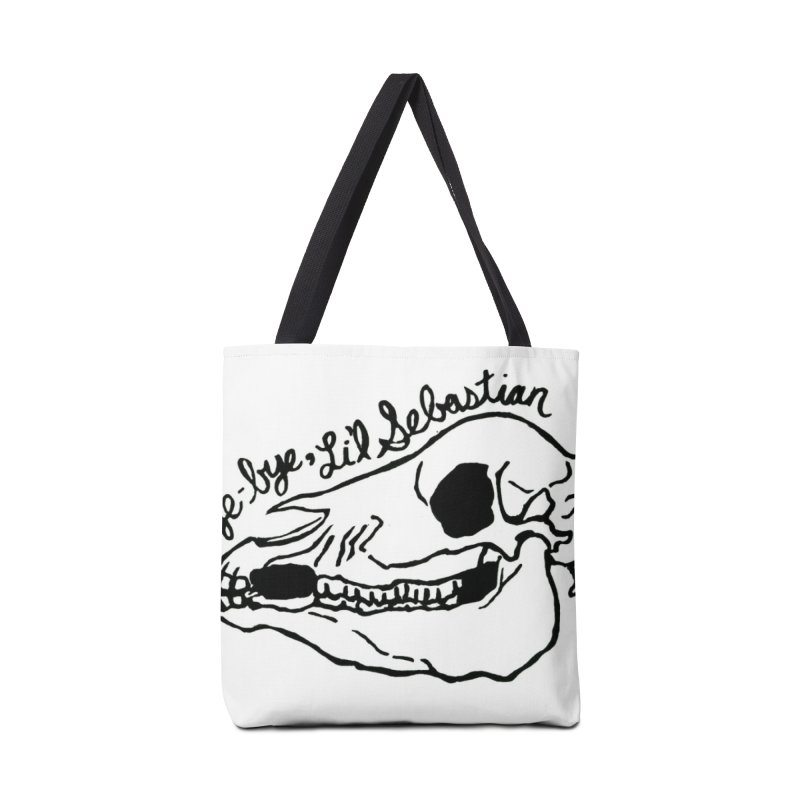Bye-bye, Li'l Sebastian Accessories Tote Bag Bag by Guinea Pigs and Books