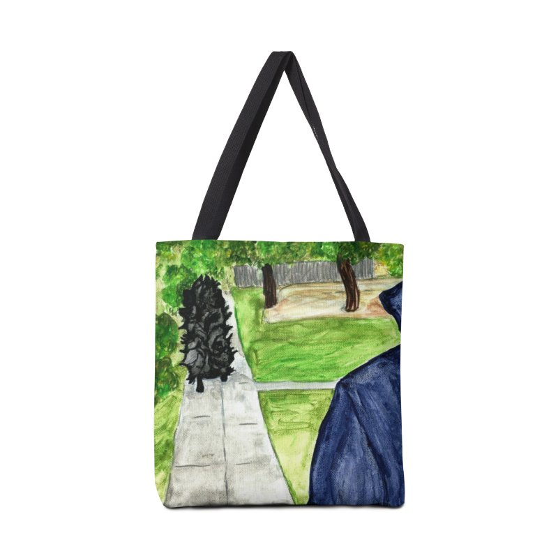 Pigoween - Merricat and Michael Myers Accessories Tote Bag Bag by Guinea Pigs and Books