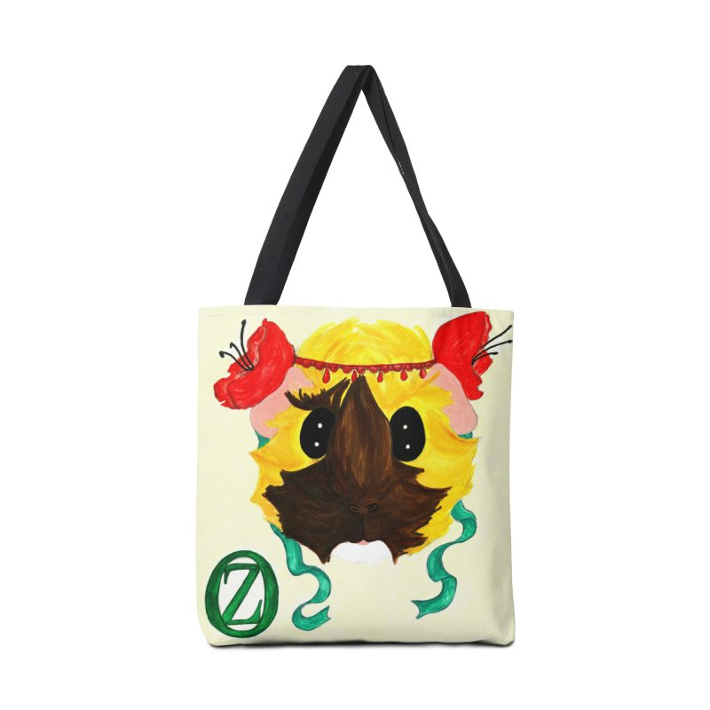 Ozma Accessories Tote Bag Bag by Guinea Pigs and Books