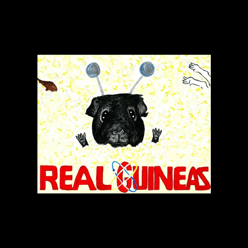 Real Guineas Kids T-Shirt by Guinea Pigs and Books
