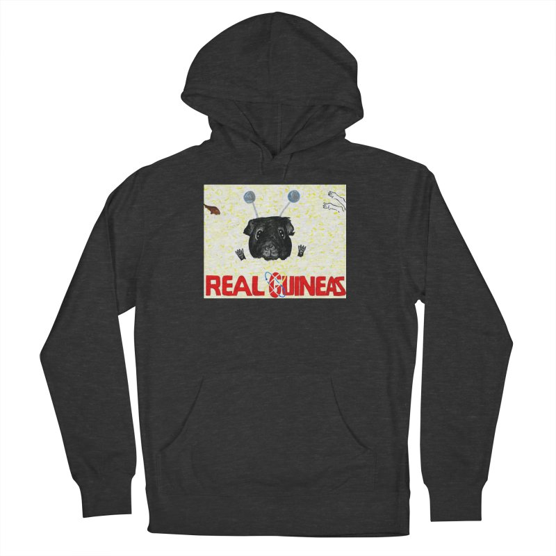 Real Guineas Men's Pullover Hoody by Guinea Pigs and Books