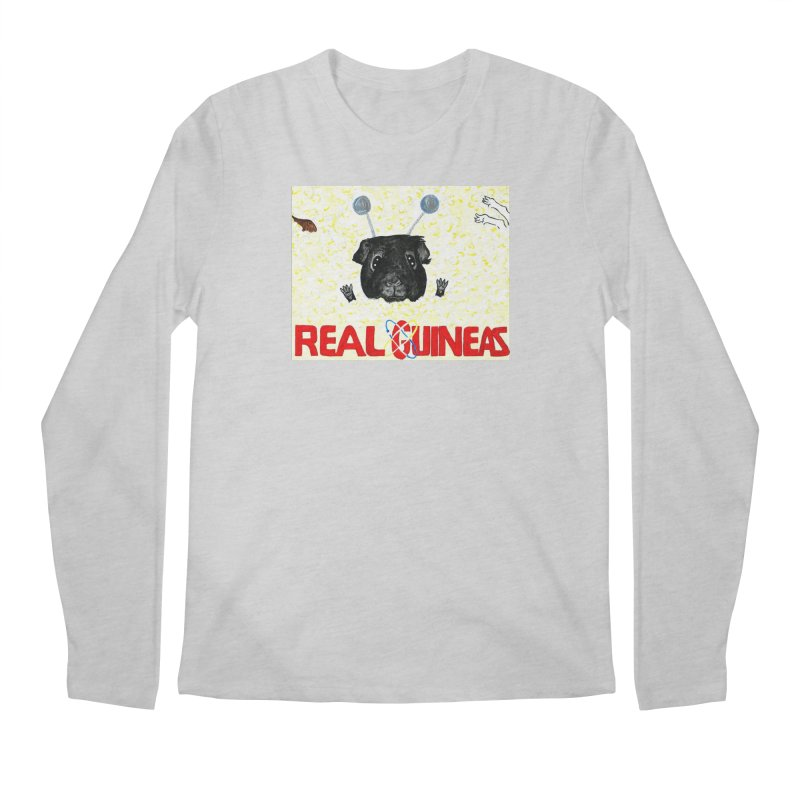 Real Guineas Men's Longsleeve T-Shirt by Guinea Pigs and Books