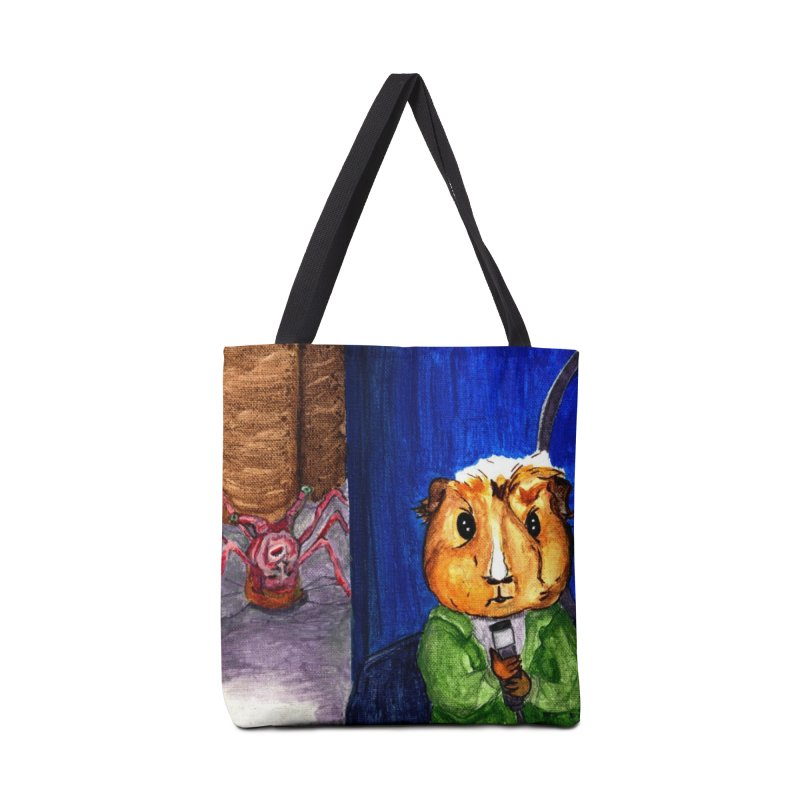 The Pig - Peregrine and the Monster Accessories Tote Bag Bag by Guinea Pigs and Books