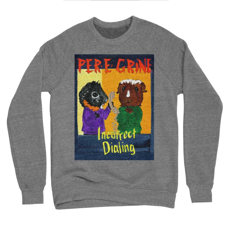 Incorrect Dialing Men's Sponge Fleece Sweatshirt by Guinea Pigs and Books