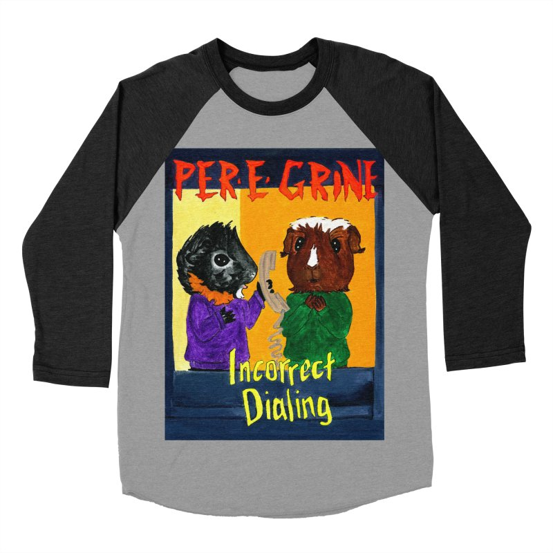 Incorrect Dialing Women's Baseball Triblend Longsleeve T-Shirt by Guinea Pigs and Books