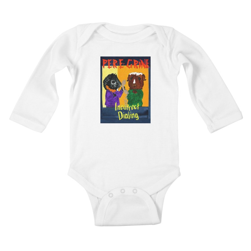 Incorrect Dialing Kids Baby Longsleeve Bodysuit by Guinea Pigs and Books