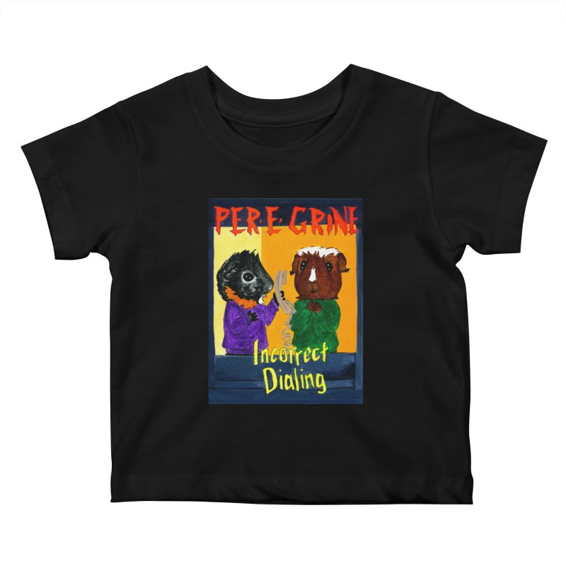 Incorrect Dialing Kids Baby T-Shirt by Guinea Pigs and Books