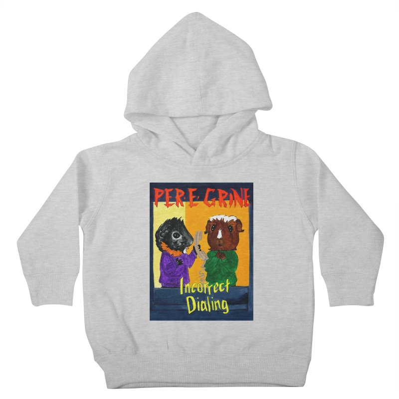 Incorrect Dialing Kids Toddler Pullover Hoody by Guinea Pigs and Books