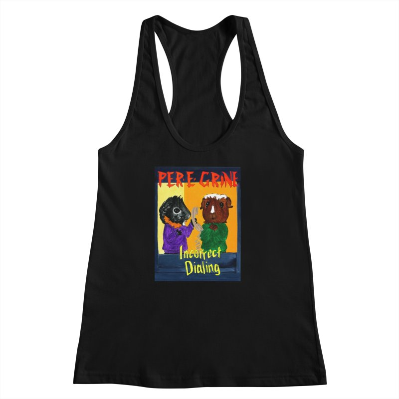 Incorrect Dialing Women's Racerback Tank by Guinea Pigs and Books