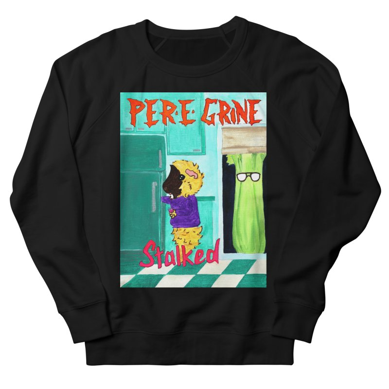 Stalked Men's French Terry Sweatshirt by Guinea Pigs and Books