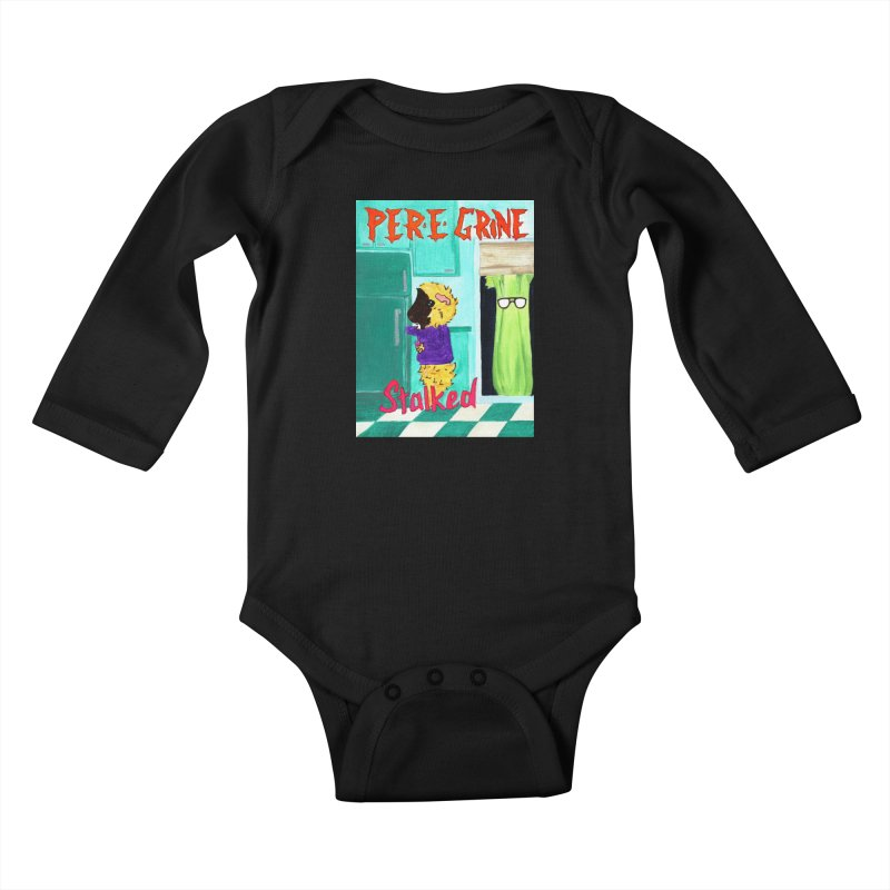 Stalked Kids Baby Longsleeve Bodysuit by Guinea Pigs and Books