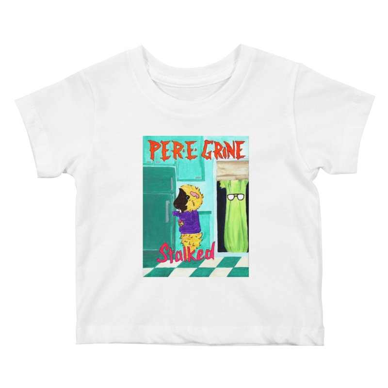 Stalked Kids Baby T-Shirt by Guinea Pigs and Books