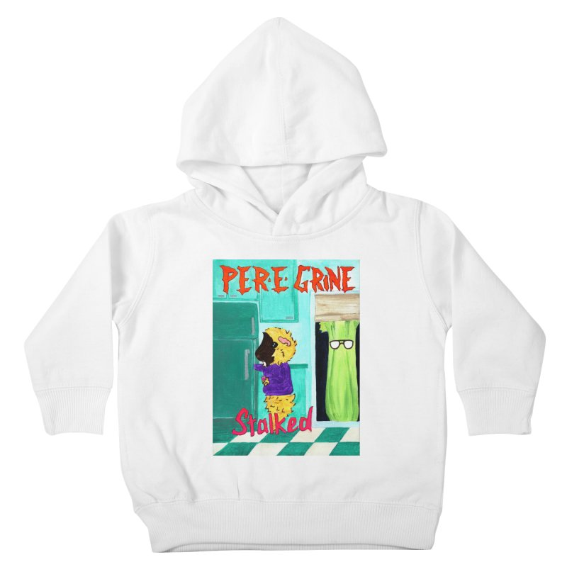 Stalked Kids Toddler Pullover Hoody by Guinea Pigs and Books