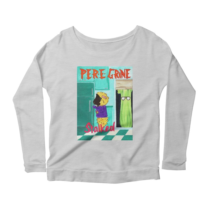 Stalked Women's Scoop Neck Longsleeve T-Shirt by Guinea Pigs and Books