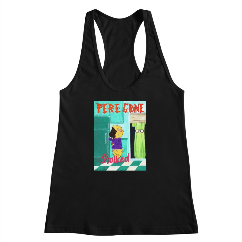 Stalked Women's Racerback Tank by Guinea Pigs and Books