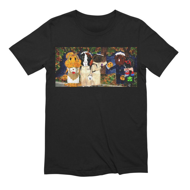 Danger Things II: Strange Things Are Afoot Men's Extra Soft T-Shirt by Guinea Pigs and Books