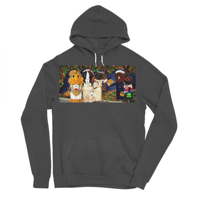 Danger Things II: Strange Things Are Afoot Women's Sponge Fleece Pullover Hoody by Guinea Pigs and Books
