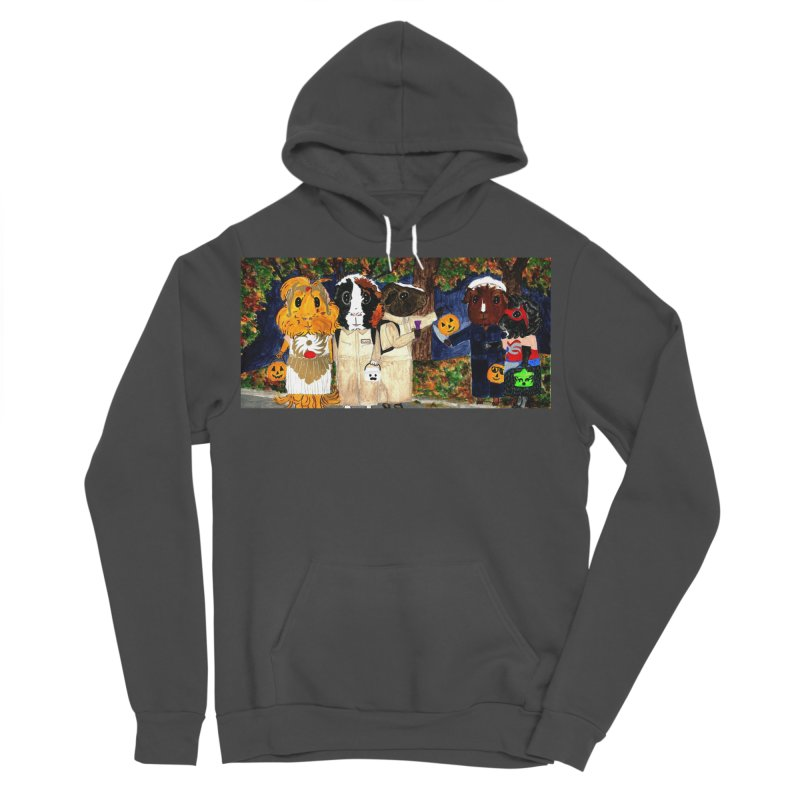 Danger Things II: Strange Things Are Afoot Men's Sponge Fleece Pullover Hoody by Guinea Pigs and Books