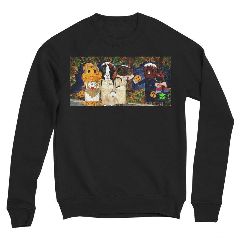 Danger Things II: Strange Things Are Afoot Women's Sponge Fleece Sweatshirt by Guinea Pigs and Books