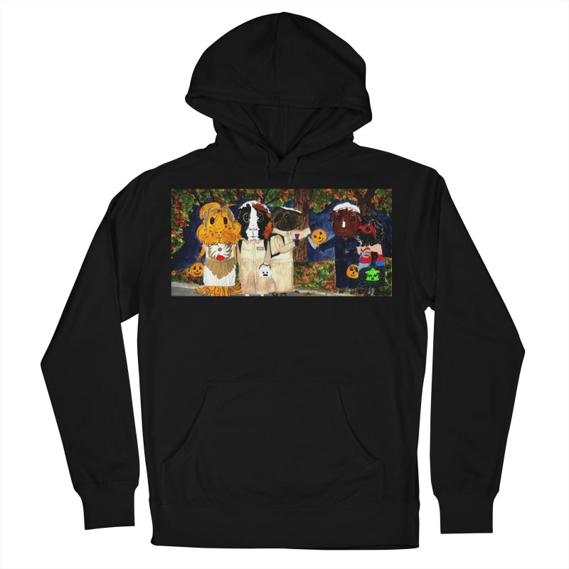Danger Things II: Strange Things Are Afoot Men's French Terry Pullover Hoody by Guinea Pigs and Books