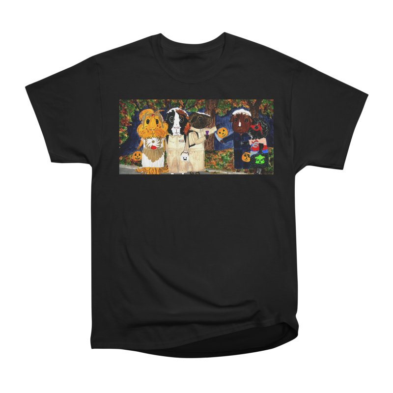 Danger Things II: Strange Things Are Afoot Women's Heavyweight Unisex T-Shirt by Guinea Pigs and Books