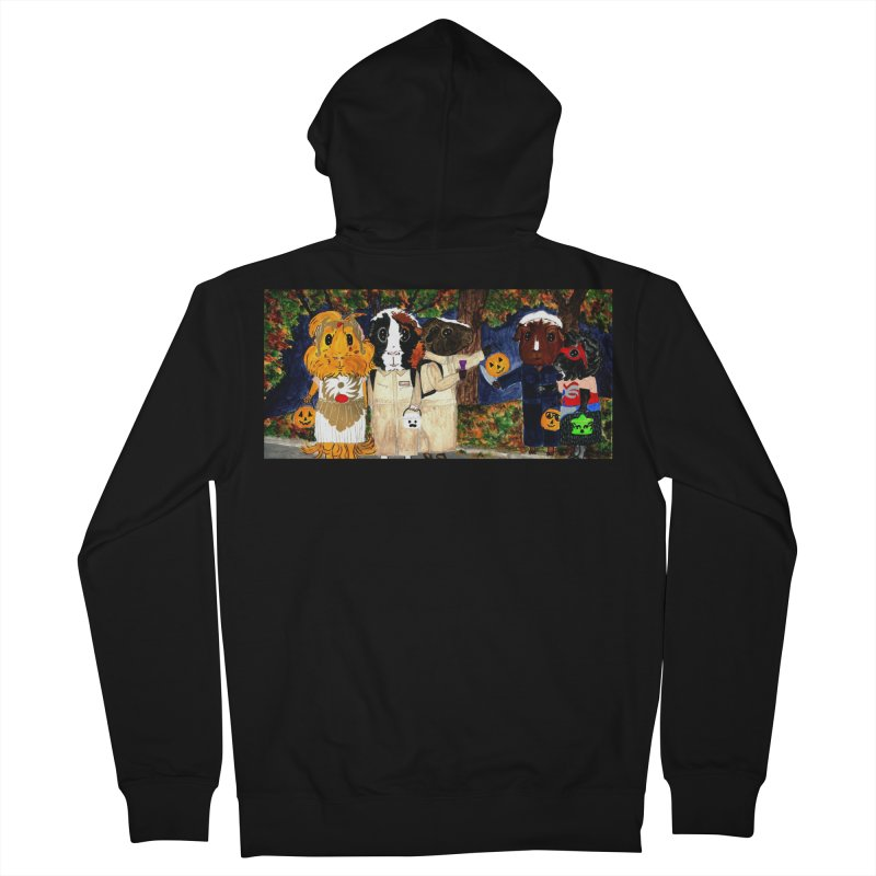 Danger Things II: Strange Things Are Afoot Men's French Terry Zip-Up Hoody by Guinea Pigs and Books