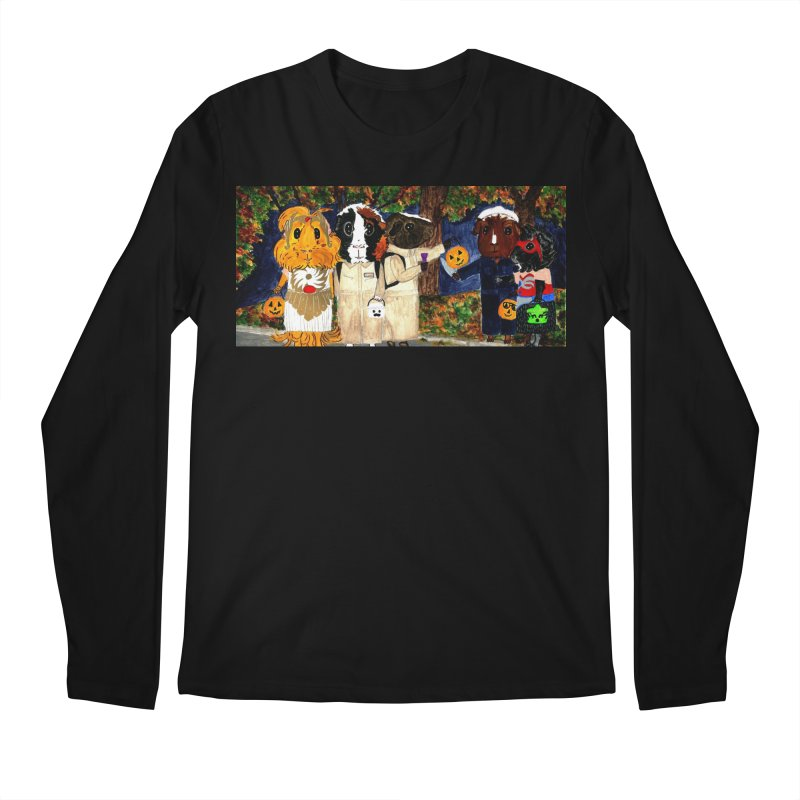 Danger Things II: Strange Things Are Afoot Men's Regular Longsleeve T-Shirt by Guinea Pigs and Books
