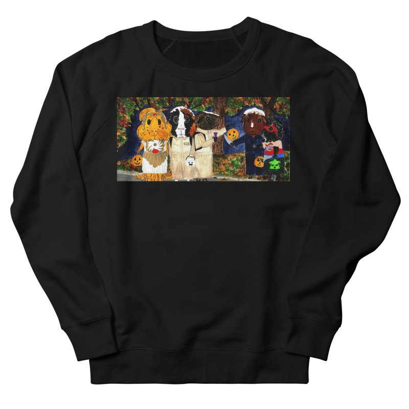 Danger Things II: Strange Things Are Afoot Men's French Terry Sweatshirt by Guinea Pigs and Books