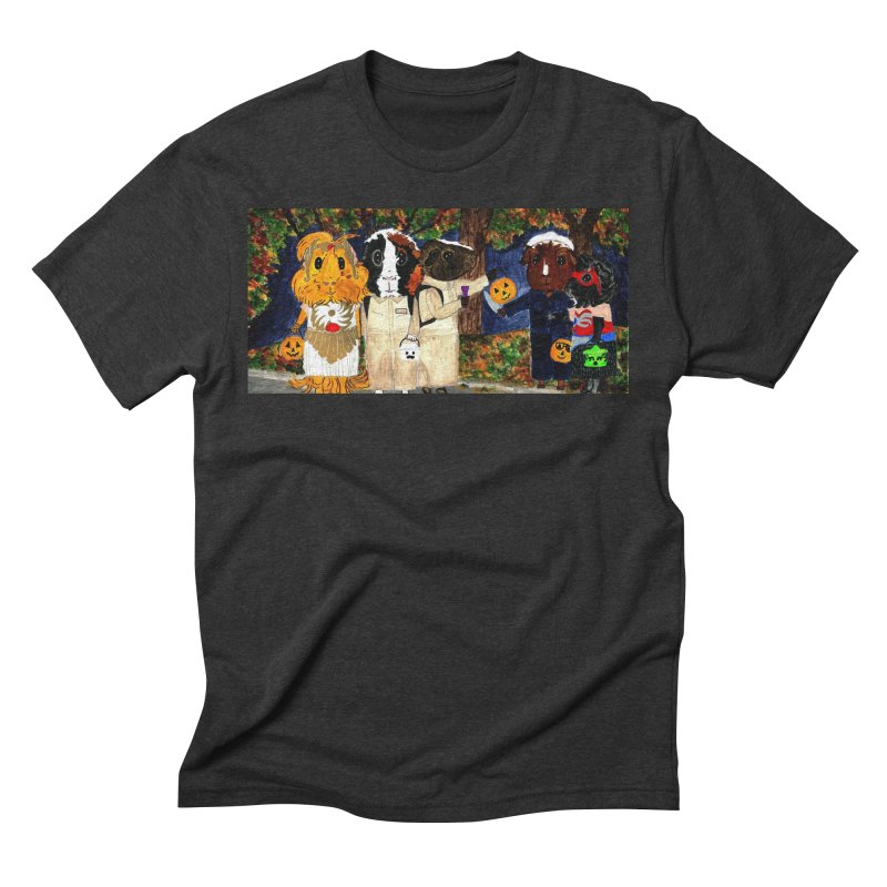 Danger Things II: Strange Things Are Afoot Men's Triblend T-Shirt by Guinea Pigs and Books