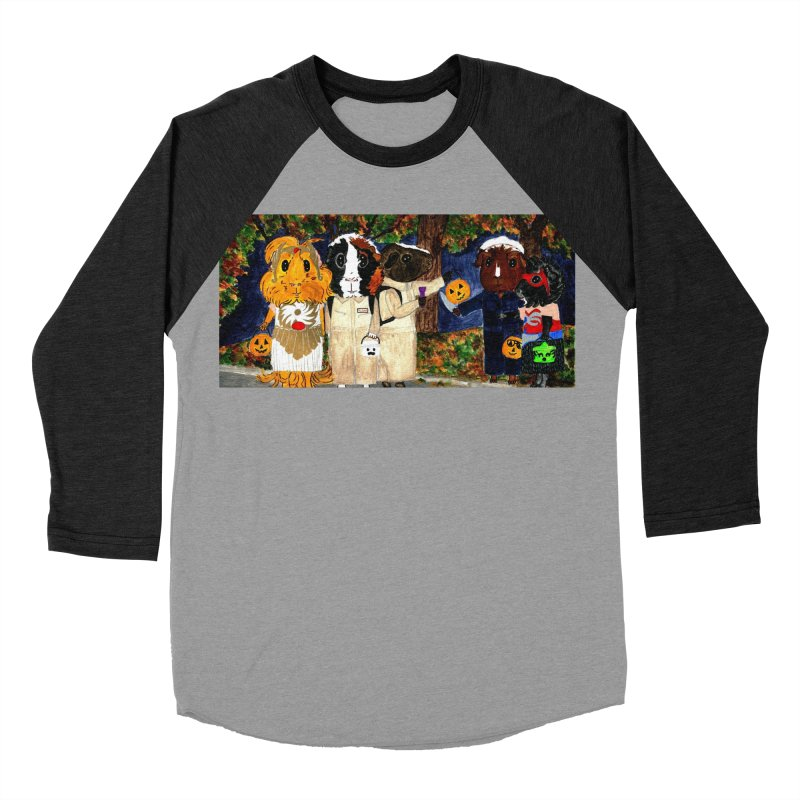 Danger Things II: Strange Things Are Afoot Women's Baseball Triblend Longsleeve T-Shirt by Guinea Pigs and Books