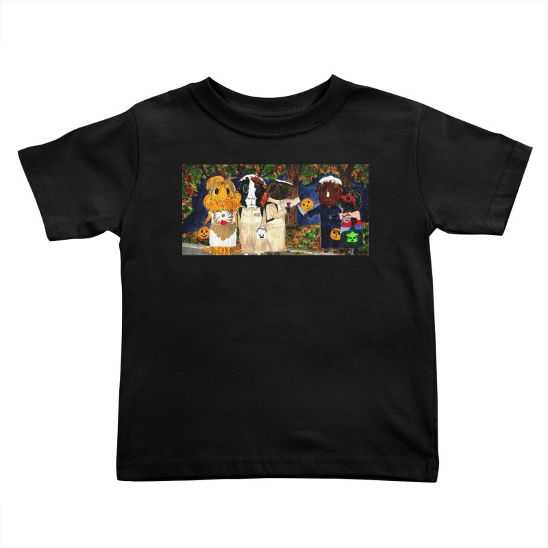 Danger Things II: Strange Things Are Afoot Kids Toddler T-Shirt by Guinea Pigs and Books