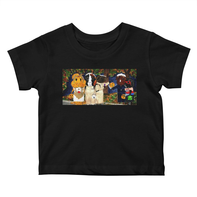 Danger Things II: Strange Things Are Afoot Kids Baby T-Shirt by Guinea Pigs and Books