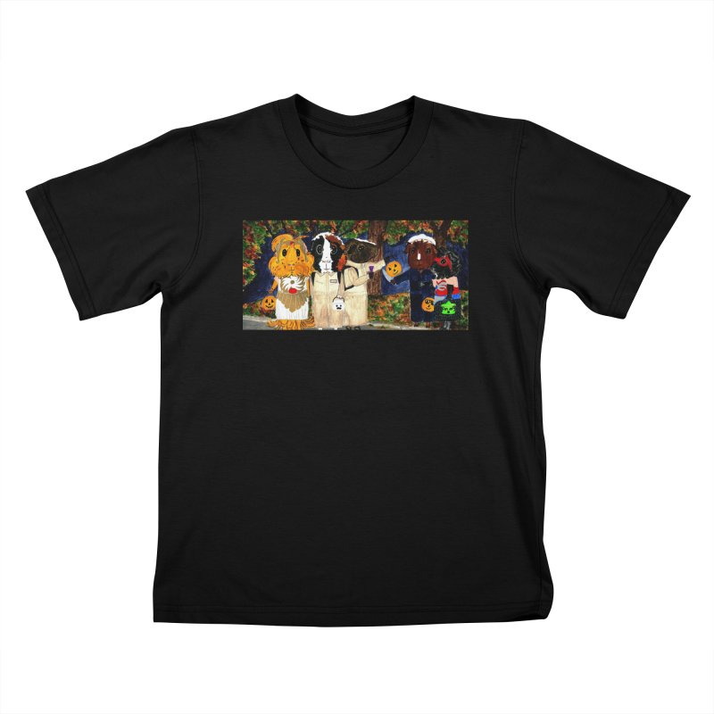 Danger Things II: Strange Things Are Afoot Kids T-Shirt by Guinea Pigs and Books