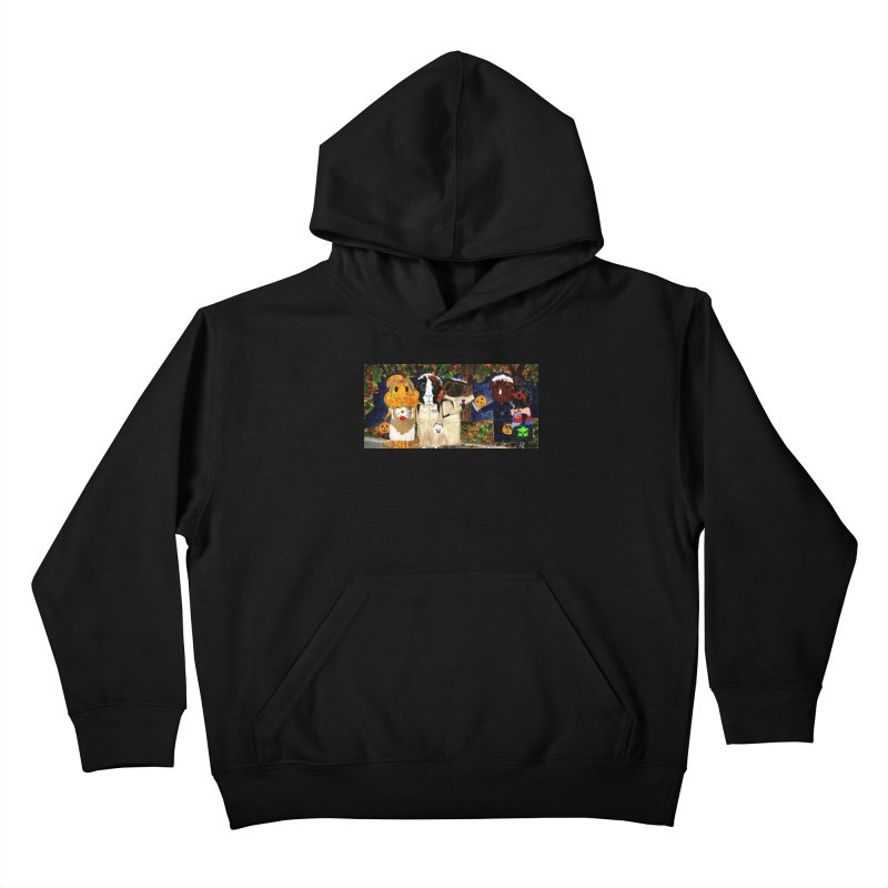 Danger Things II: Strange Things Are Afoot Kids Pullover Hoody by Guinea Pigs and Books