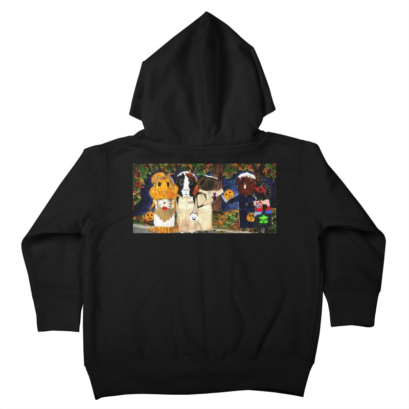 Danger Things II: Strange Things Are Afoot Kids Toddler Zip-Up Hoody by Guinea Pigs and Books