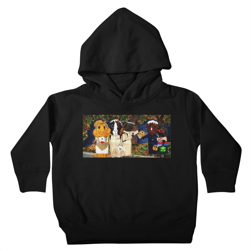 Danger Things II: Strange Things Are Afoot Kids Toddler Pullover Hoody by Guinea Pigs and Books