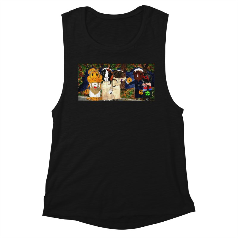 Danger Things II: Strange Things Are Afoot Women's Muscle Tank by Guinea Pigs and Books