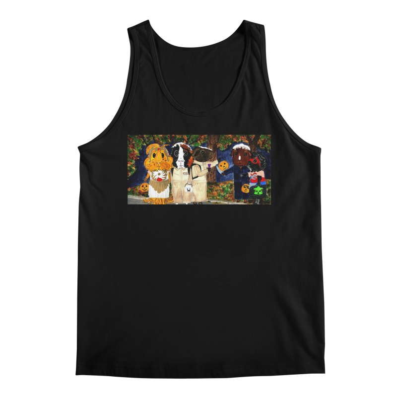Danger Things II: Strange Things Are Afoot Men's Tank by Guinea Pigs and Books