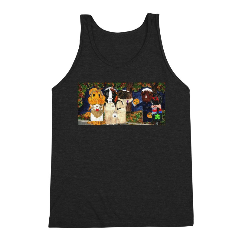 Danger Things II: Strange Things Are Afoot Men's Triblend Tank by Guinea Pigs and Books