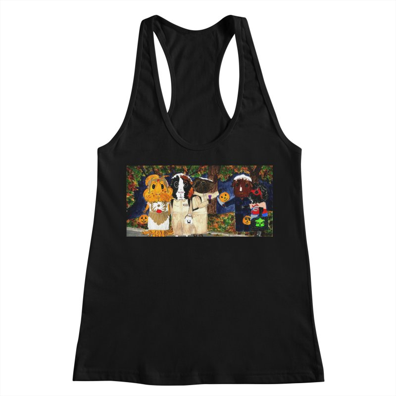 Danger Things II: Strange Things Are Afoot Women's Racerback Tank by Guinea Pigs and Books