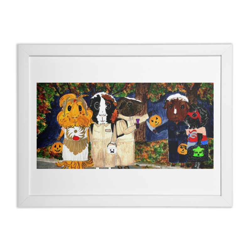 Danger Things II: Strange Things Are Afoot Home Framed Fine Art Print by Guinea Pigs and Books