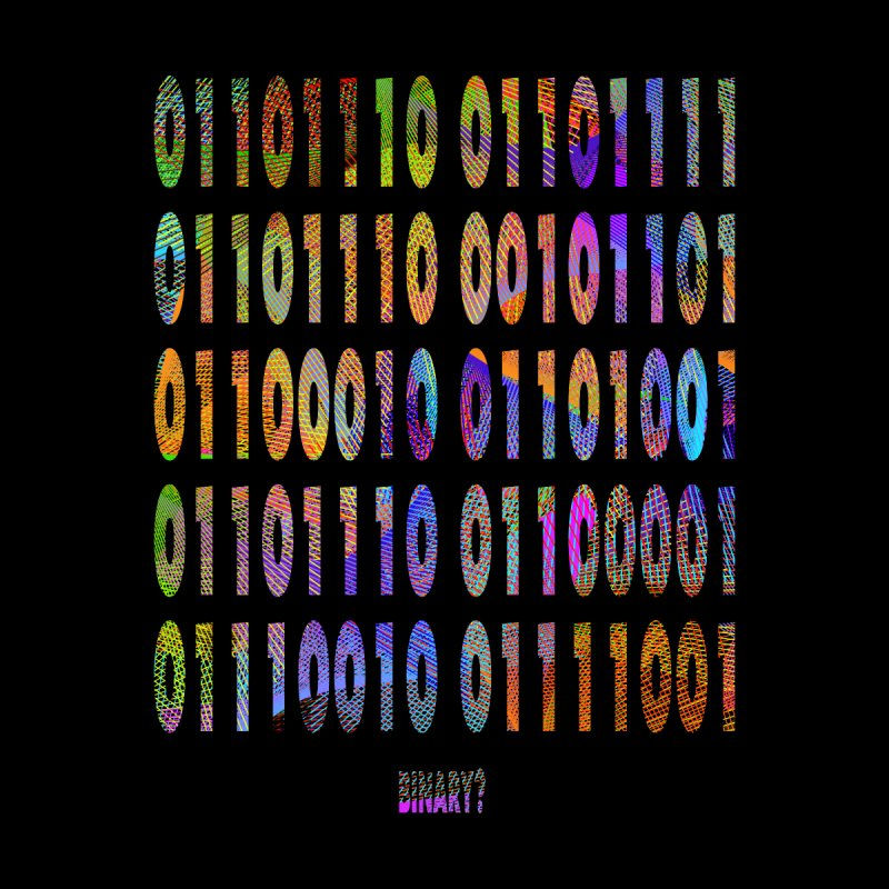 binary? Men's T-Shirt by gulayfather's Artist Shop