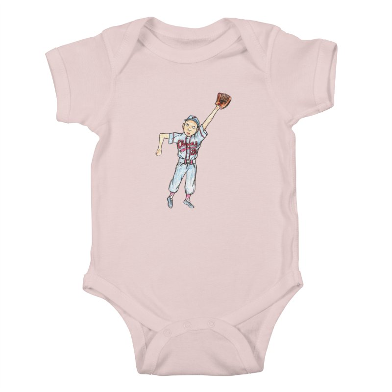 Mamie Kids Baby Bodysuit by The Gummy Arts Shop