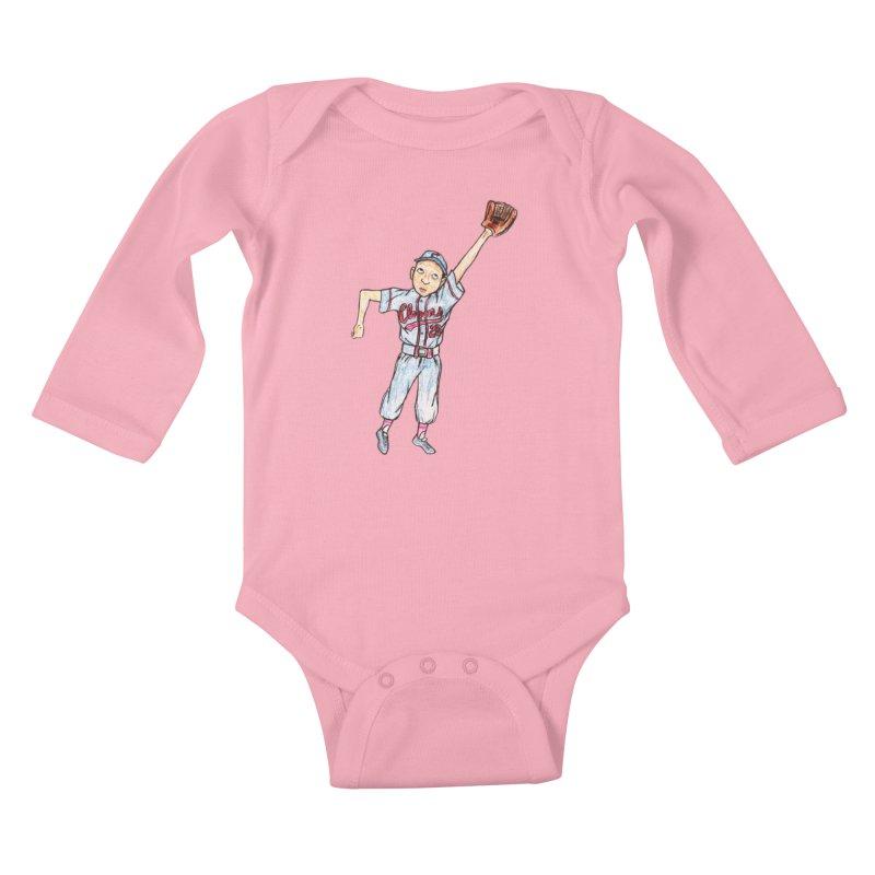 Mamie Kids Baby Longsleeve Bodysuit by The Gummy Arts Shop