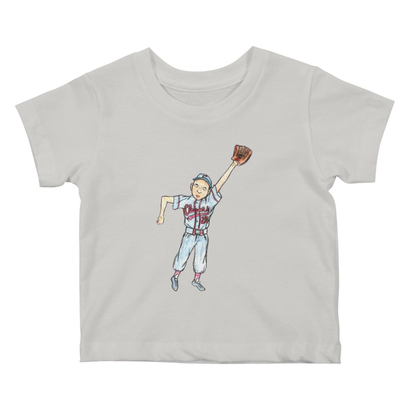 Mamie Kids Baby T-Shirt by The Gummy Arts Shop