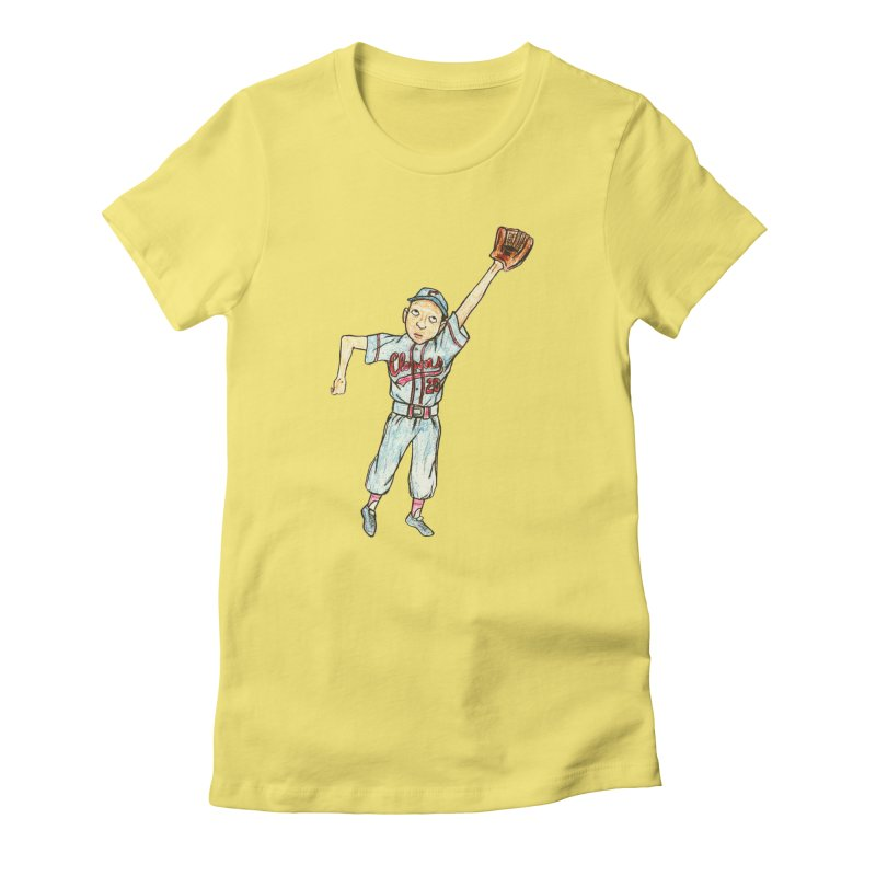 Mamie Women's Fitted T-Shirt by The Gummy Arts Shop