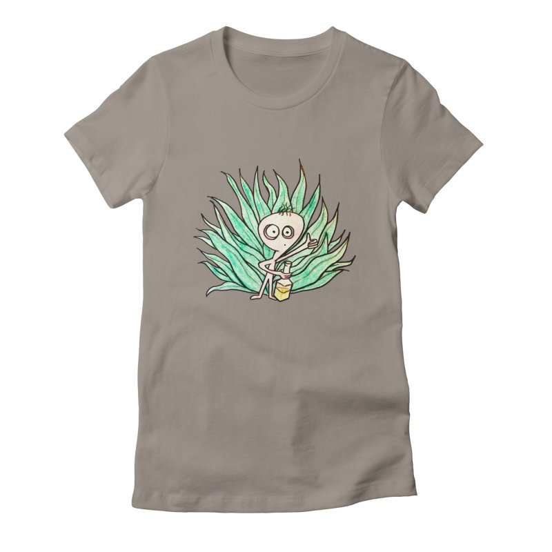 Agave Women's Fitted T-Shirt by The Gummy Arts Shop